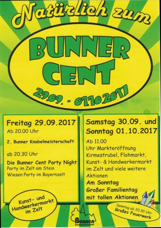 Bunner Cent 2017