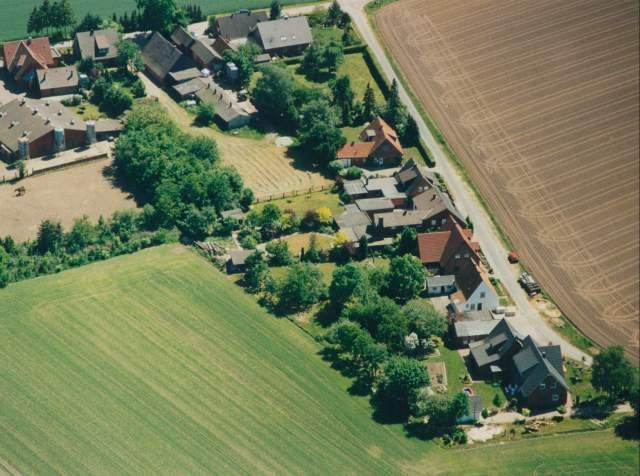 Luftbild von Bunnen - Kleinasien - Aufnahme von Monika Vogelsang und Einhard Pape